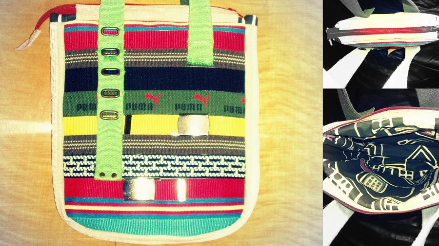 recyklovaná kabelka