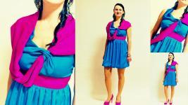 asymetrické krátke spoločenské šaty