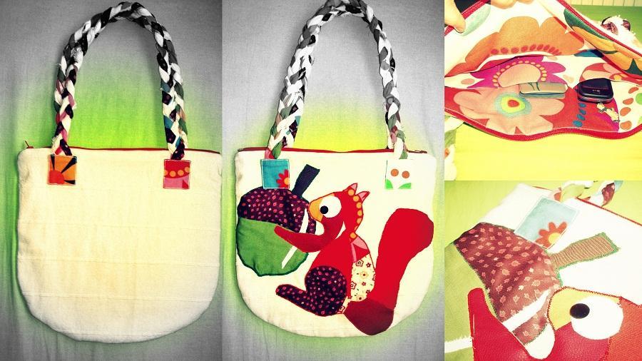 taška s veveričiakom
